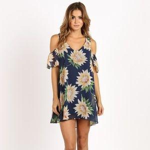 Show Me Your Mumu Sunflower Birdie Ruffle Dress